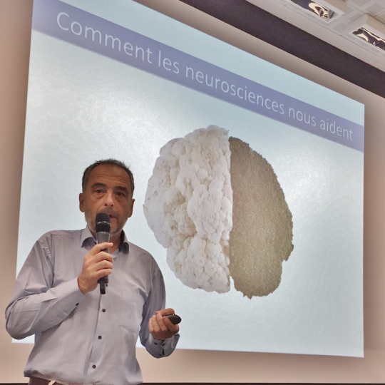 Bernard Anselem, parrain de Skin, nous apprend à obtenir le meilleur de notre cerveau
